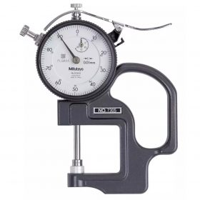 Testex Dial Thickness Gauge with Cal Cert