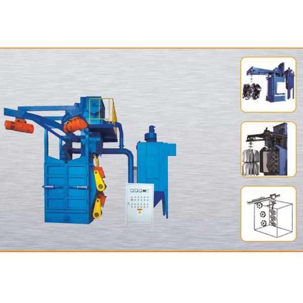 Double-hanger Blasting Machine