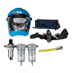 Anest Iwata Airfed Mask Kit with 10mtr Breathing Hose 3 Stage CFRCB Filter/ Coalescer/ Carbon
