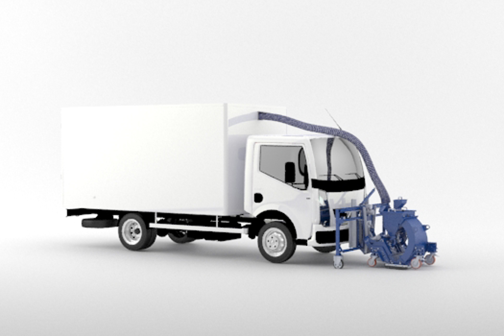 Truck Mounted Blastrac 2-30DTM Truck Mounted System
