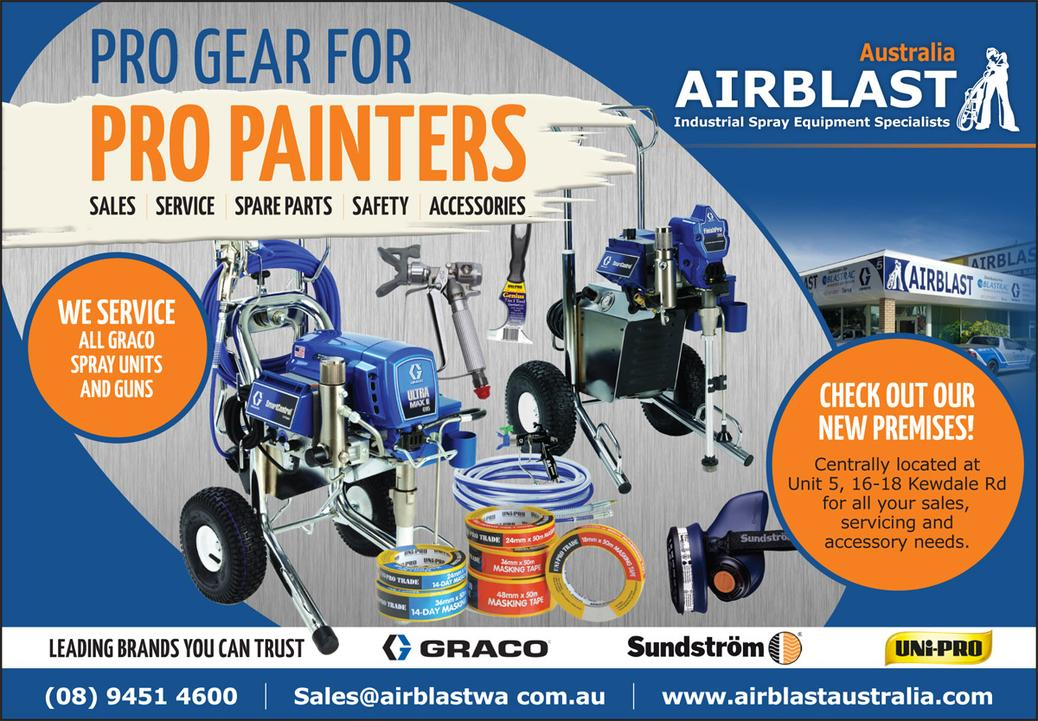 Airblast Australia in Brushstrokes Magazine