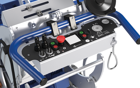 Scarifiers Blastrac BMC-335ELITE electric shaver / scarifier