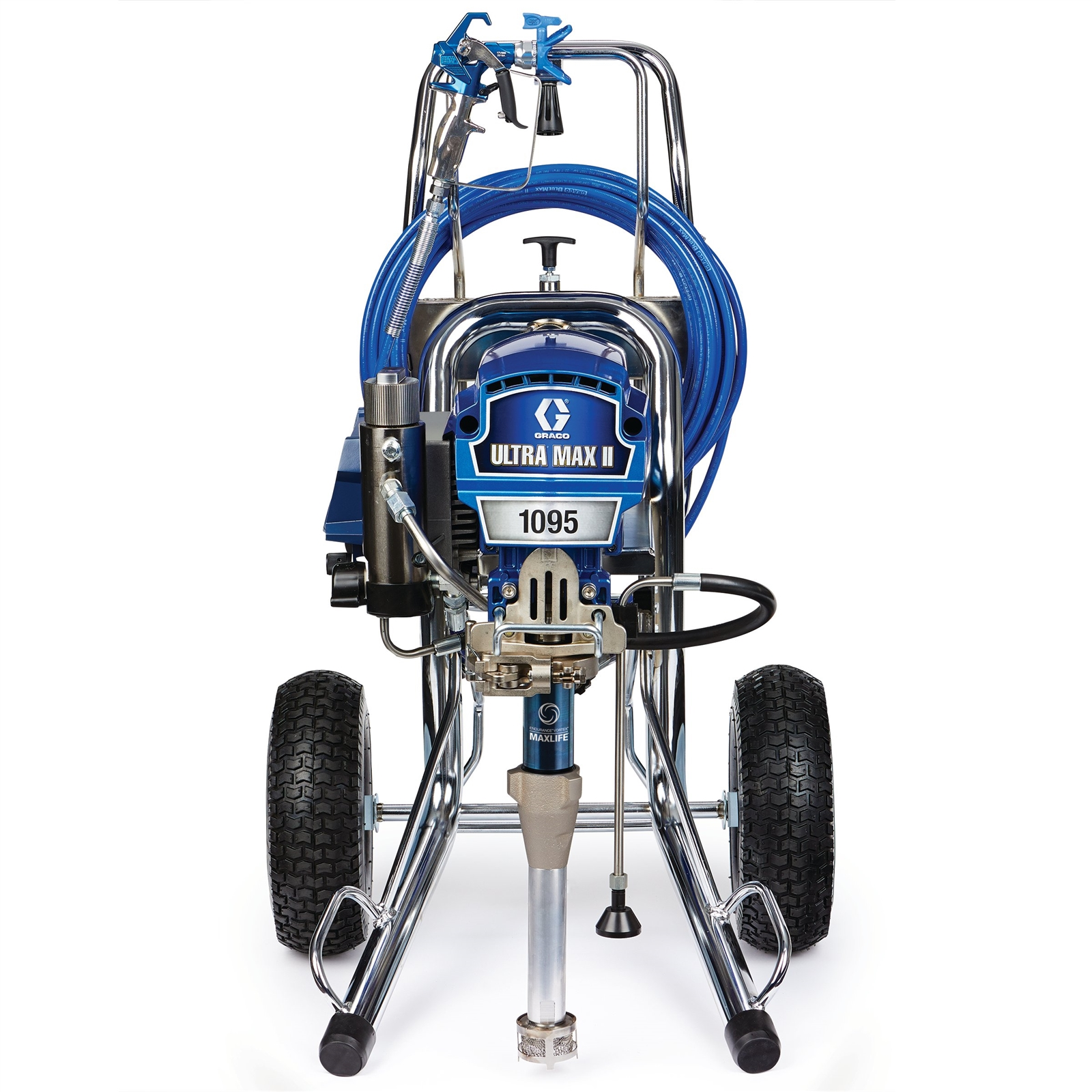 Professional Large Sprayers Graco ULTRA® MAX II Standard 1095 Hi-Boy Electric Airless Paint Sprayer