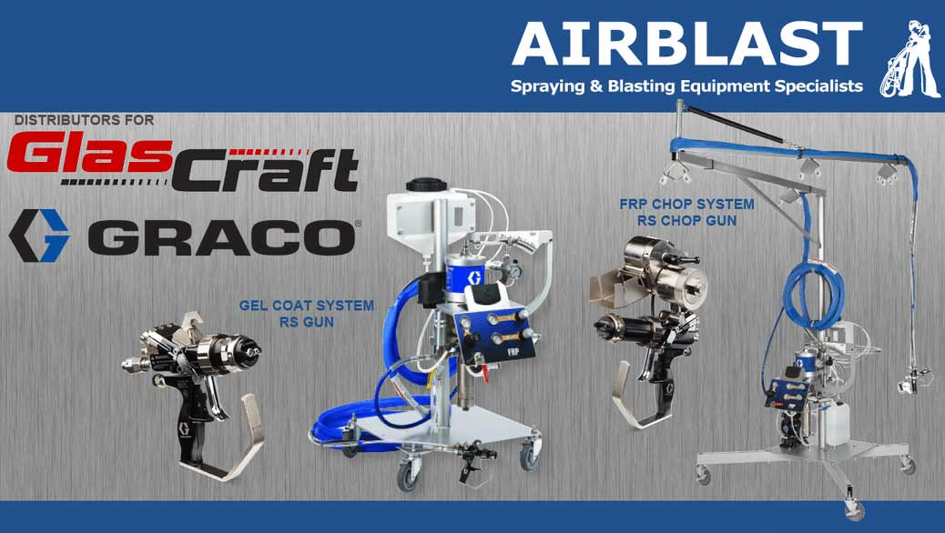 Airblast is your official Glascraft & Graco Distributor