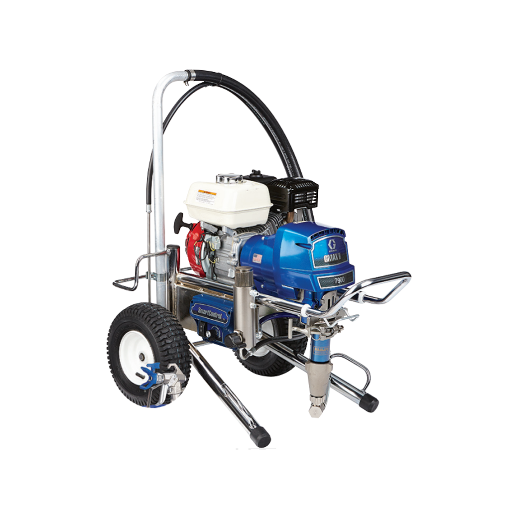 G-MAX II Applications Graco GMAX™ II Standard 7900 Lo-Boy Gas-Mechanical Airless Sprayer