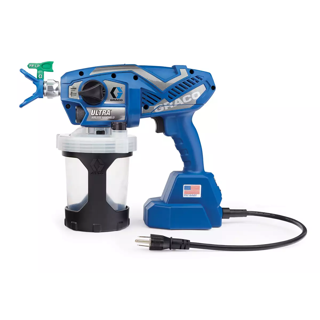 Touch-Up Applications Graco Ultra Corded Airless Handheld Sprayer