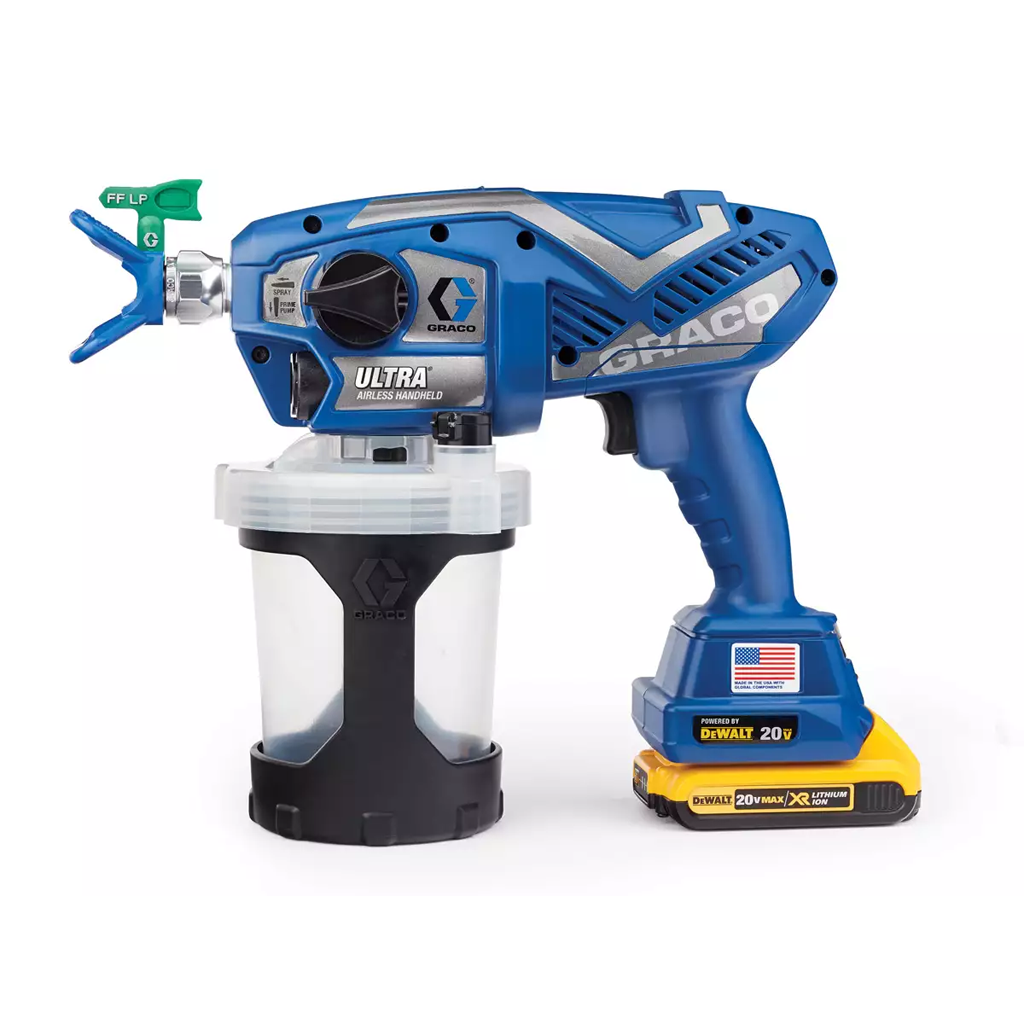 Touch-Up Applications Graco Ultra Cordless Handheld Sprayer