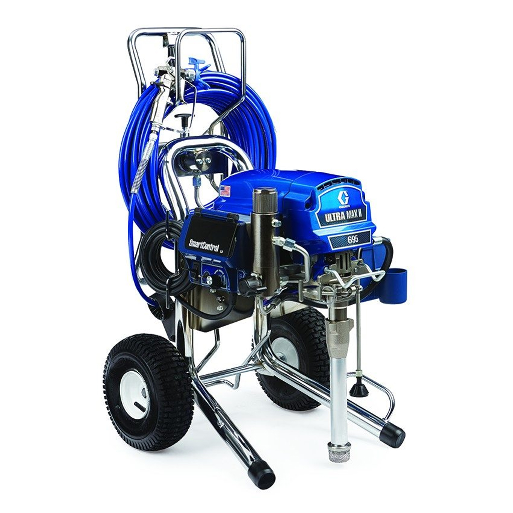 Professional Large Sprayers Graco Ultra Max II PROCONTRACTOR 695 Electric Airless Paint Sprayer