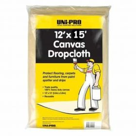 Hand tools and Prep Canvas Drop Cloth 15 x 12