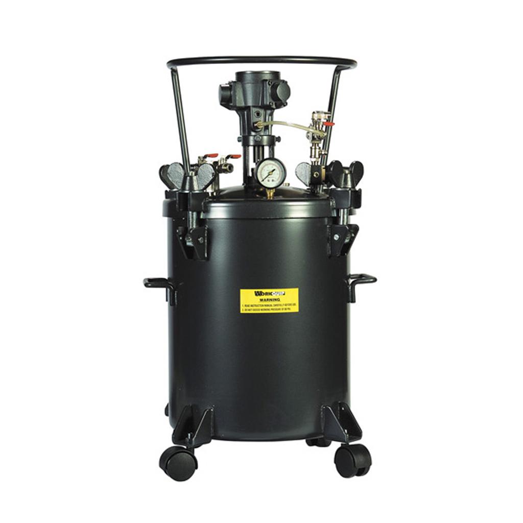 20L Pressure pot Air Agitation