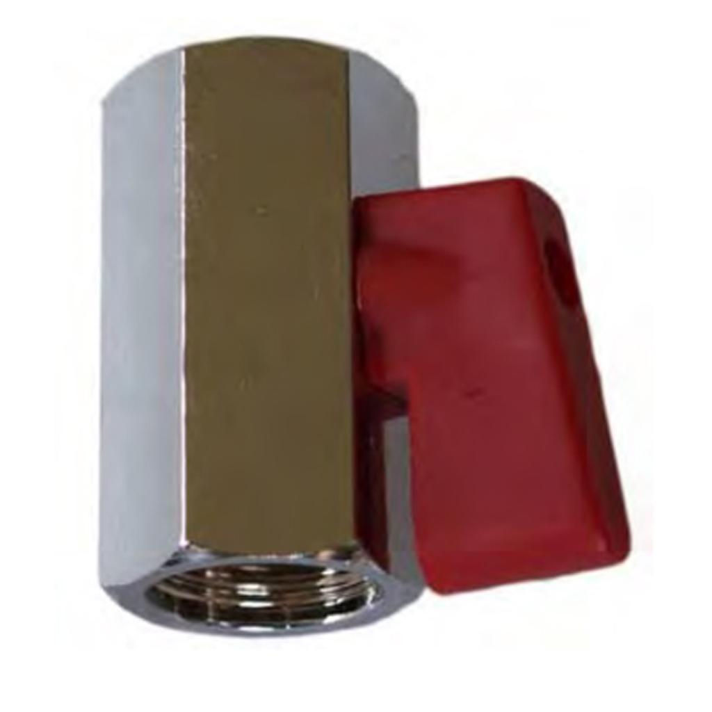 Blasting Ball Valve Mini red handle