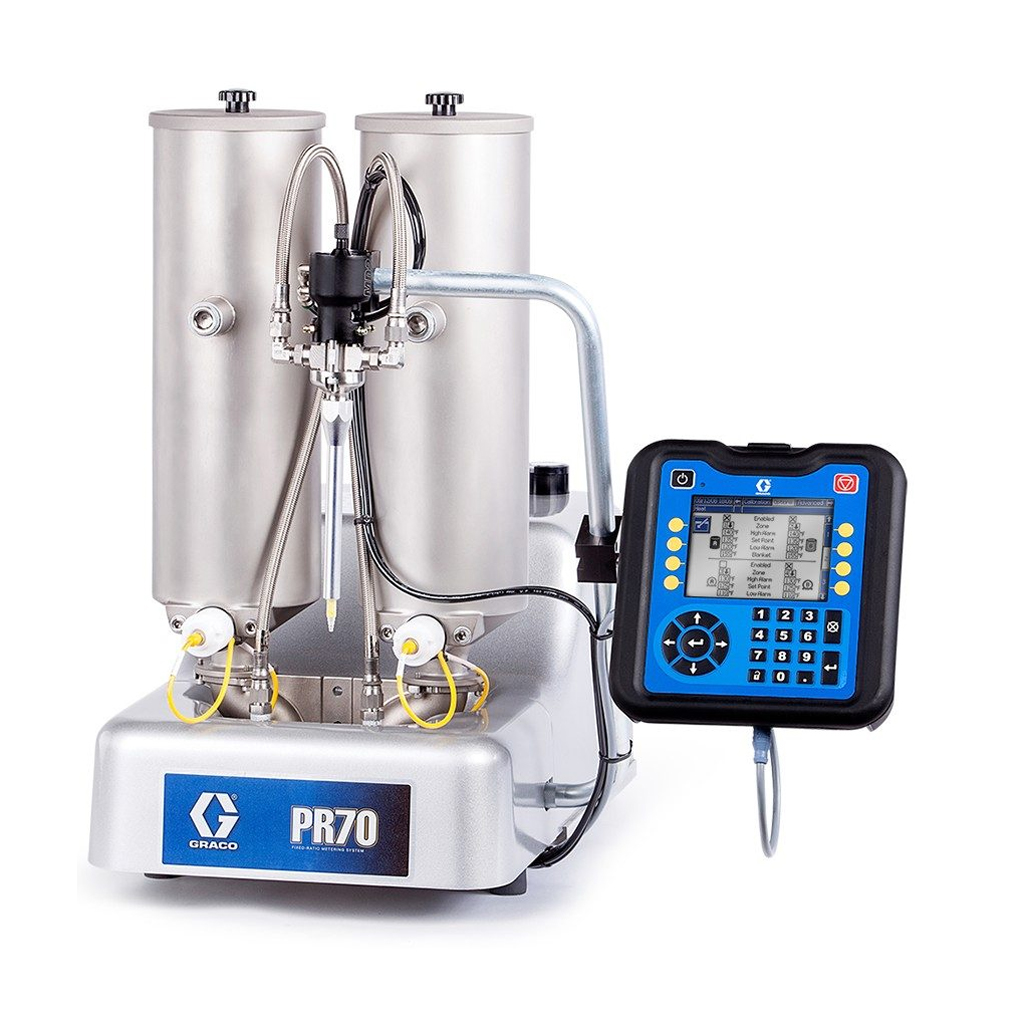 Coating PR70 Compact Benchtop Meter, Mix and Dispense System