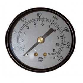 Blasting 0-160 Psi Gauges 1/4″ Back Entry
