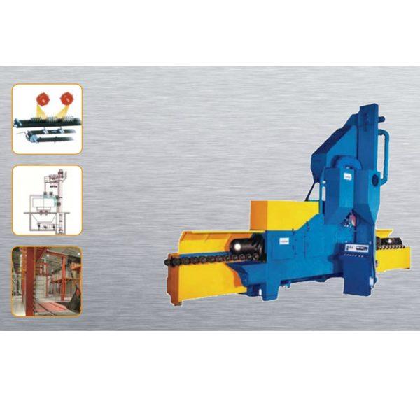 Stationary Wheelblast Equipment Round Spring Shot Blasting Machine