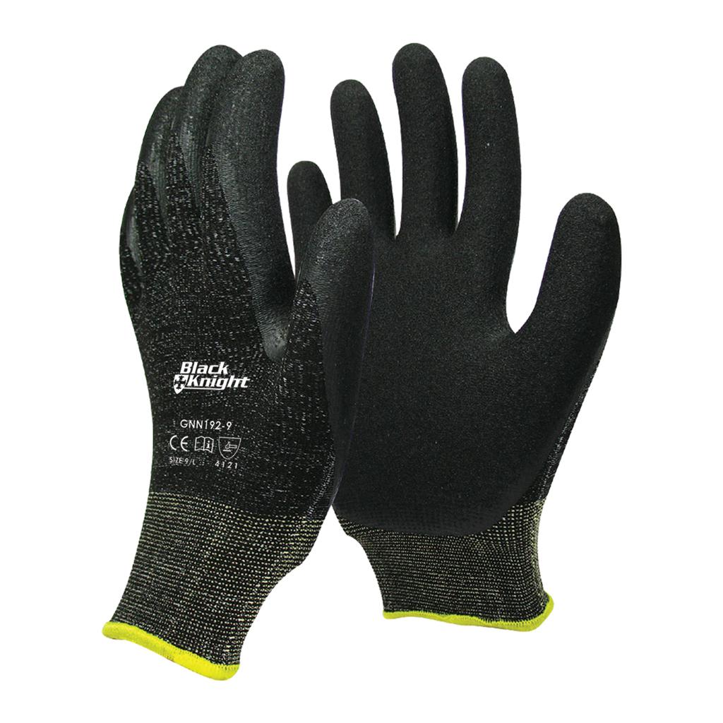 PPE Black Knight Nylon Glove