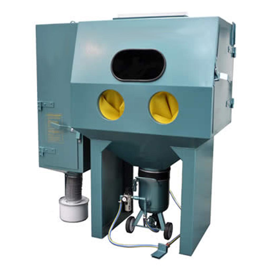 Blast cabinets CP1200RP Pressure Blast Cabinet C/W Reverse Pulse Dust Collector