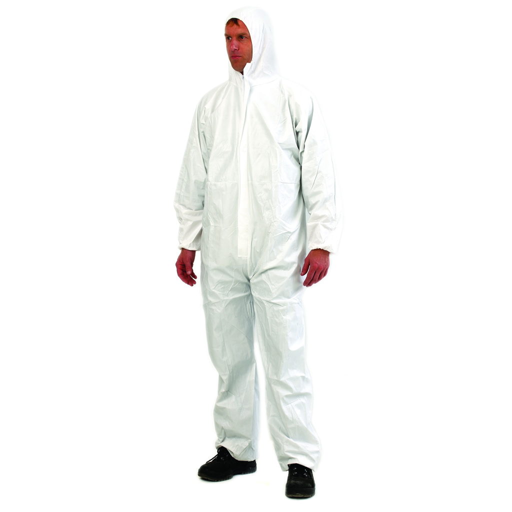 PPE TYPE 5/6 DISP Coveralls White Laminated