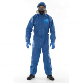 TYPE 5/6 DISP Coveralls Blue breathable
