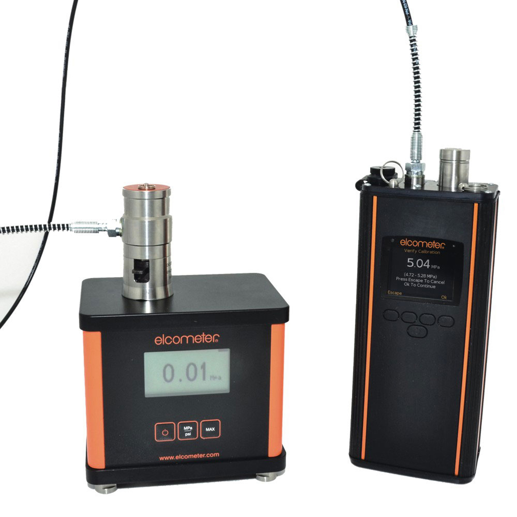 Pull off adhesion Elcometer 510 Automatic Pull-Off Adhesion Gauge