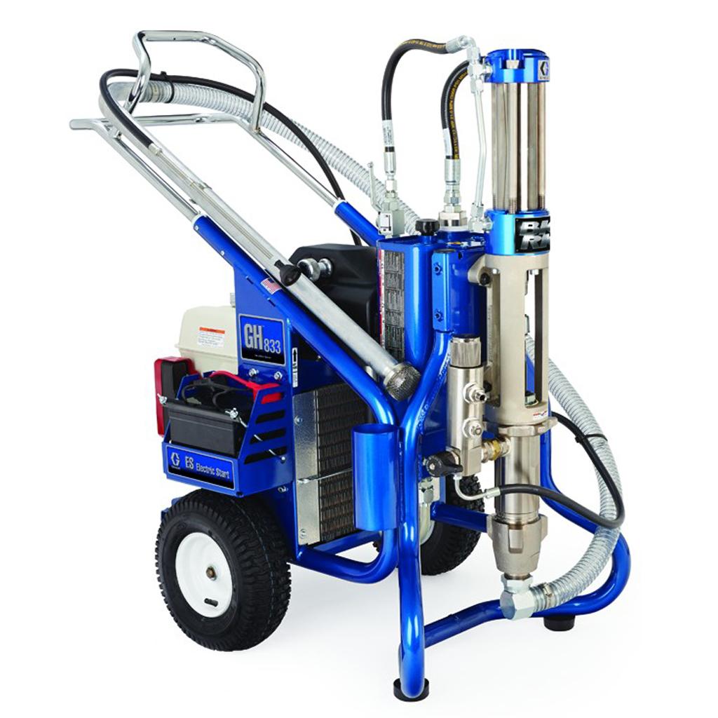 Heavy Duty Applications Graco Gas Hydraulic 833 – Package