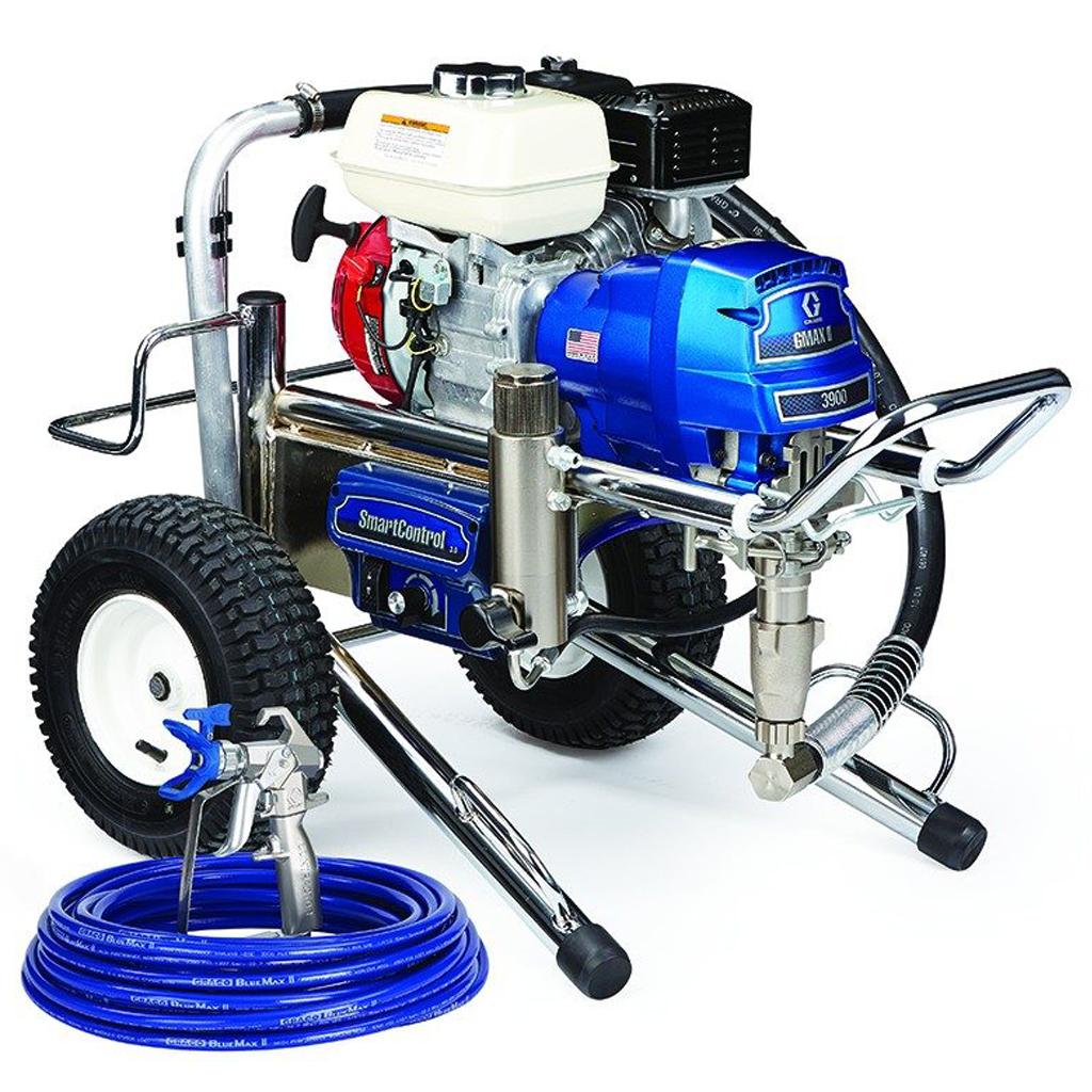 G-MAX II Applications Graco GMAX™ II Standard 3900 Lo-Boy Gas-Mechanical Airless Sprayer