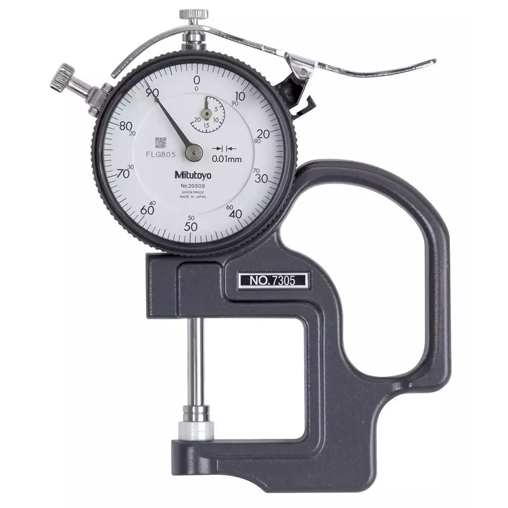 Inspection & Testing Testex Dial Thickness Gauge with Cal Cert
