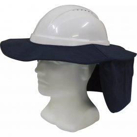 Hat Brim with Neck Flap