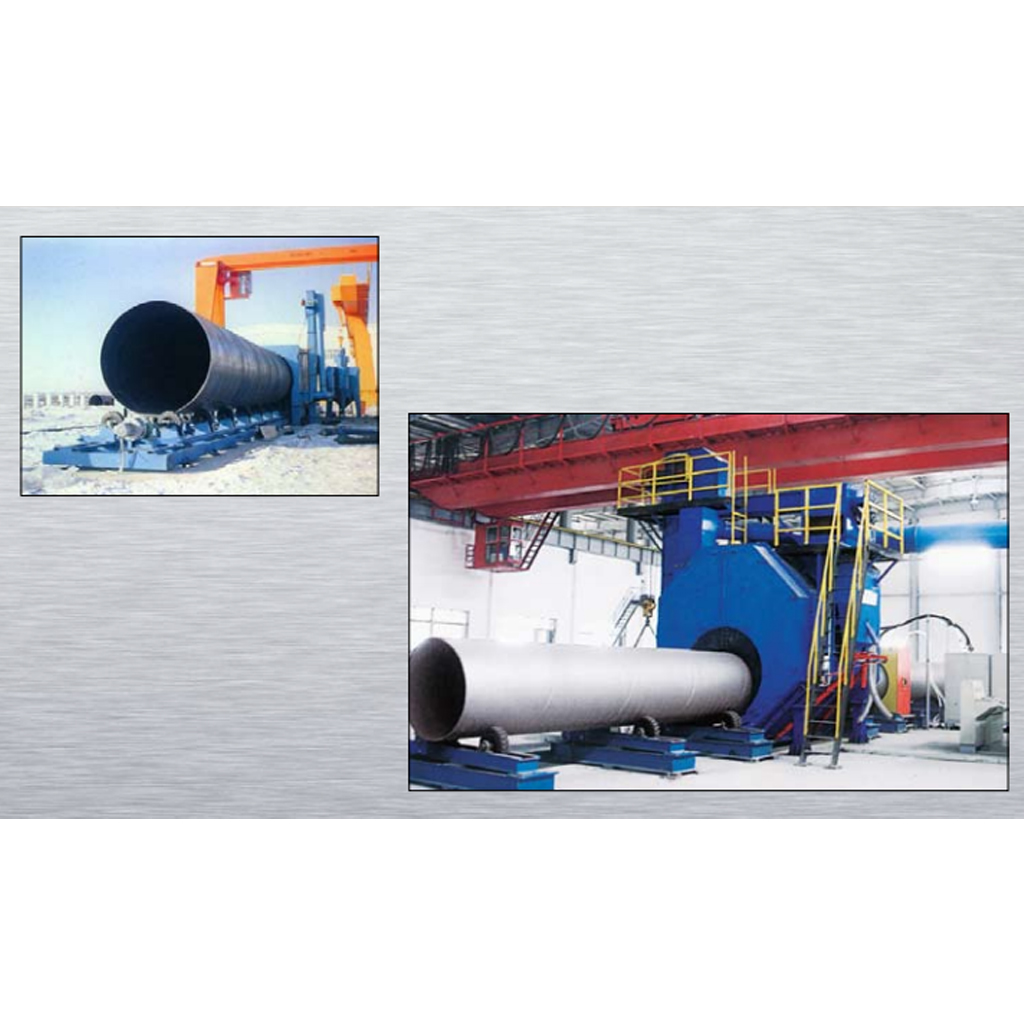 Stationary Wheelblast Equipment Inner and Outer Wall Special Shot Machine