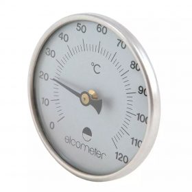 Magnetic Steel Thermometer 0-120°C
