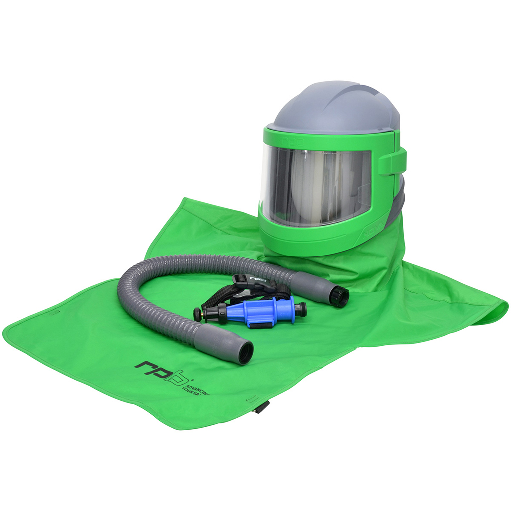 PPE Blast Helmet With Cool Air Tube