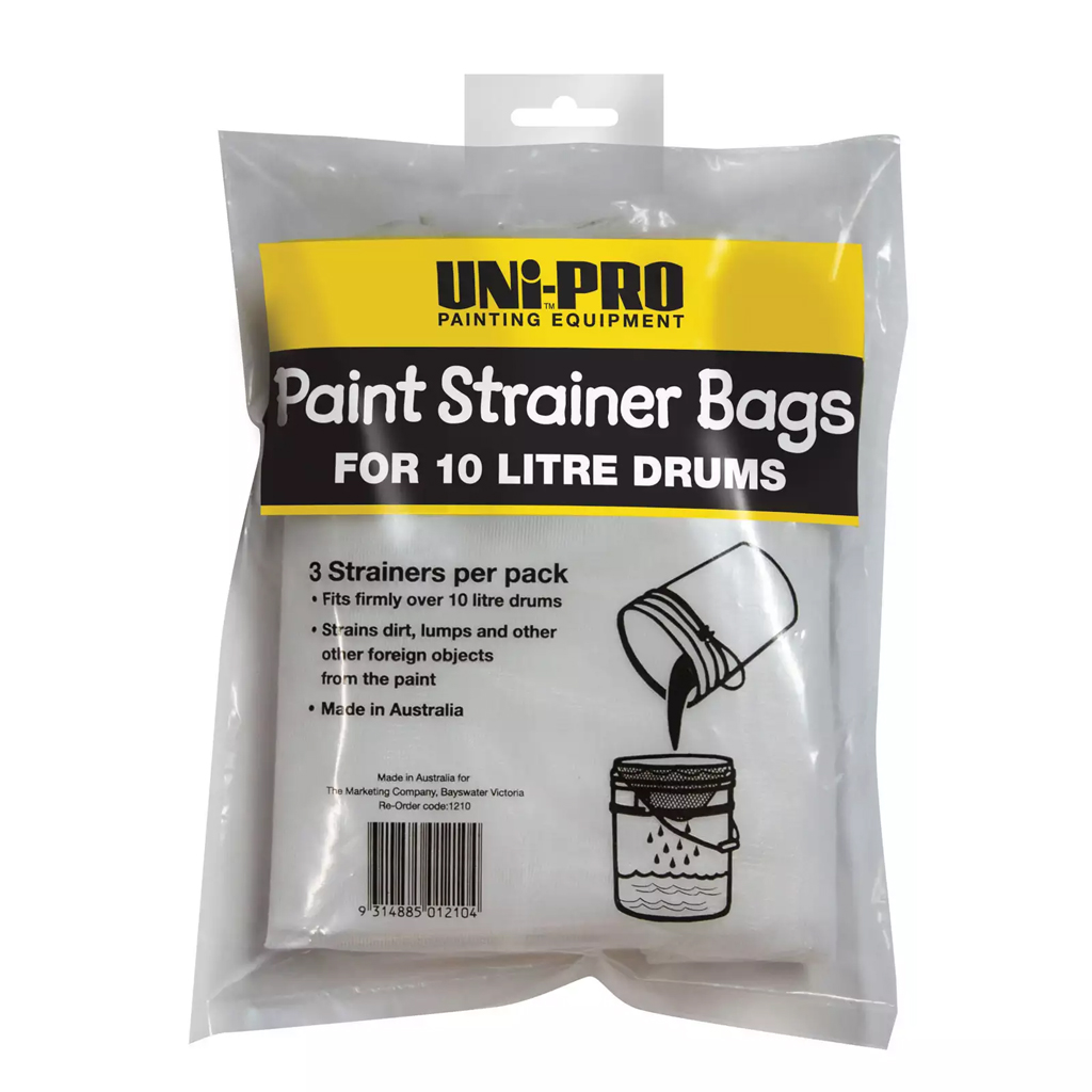 Hand tools and Prep 10/15L Paint strainer bags