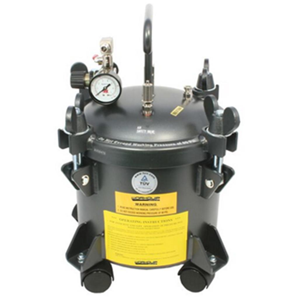 10L Pressure Pot Wheels and Liner