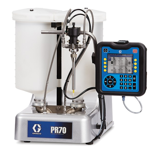 PR70 Compact Benchtop Meter, Mix and Dispense System