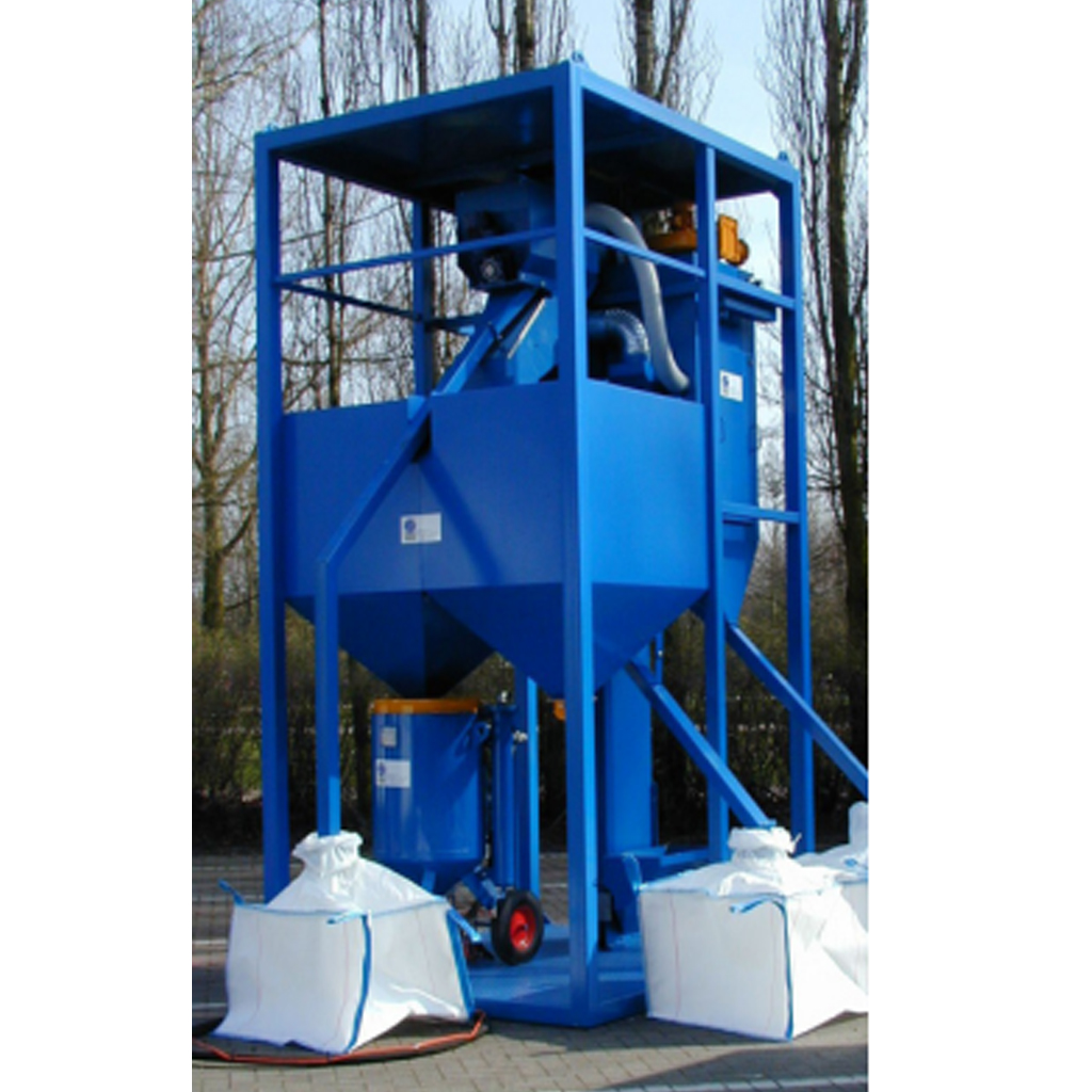 RC-80-160 Grit Recycling System