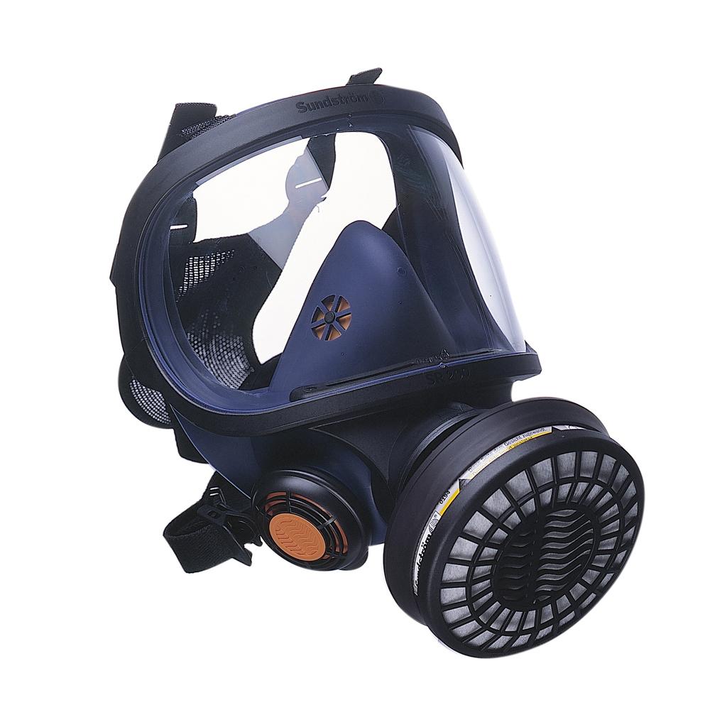 Sundstrom SR200 Full Mask Respirator with Glass Visor