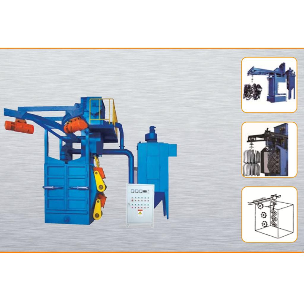 Stationary Wheelblast Equipment Double-hanger Blasting Machine