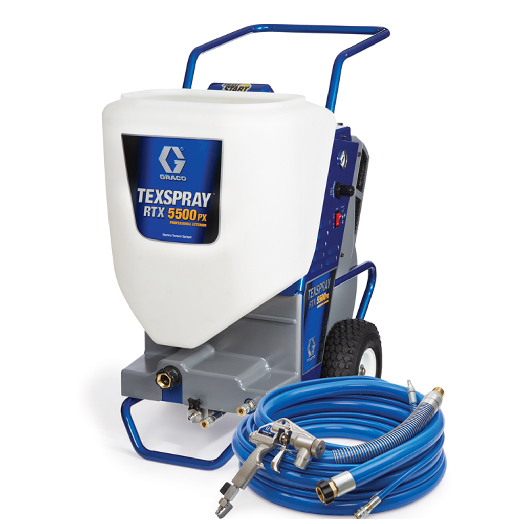 Texture Applications Graco Texspray RTX5500PX Electric Airless Texture Sprayer