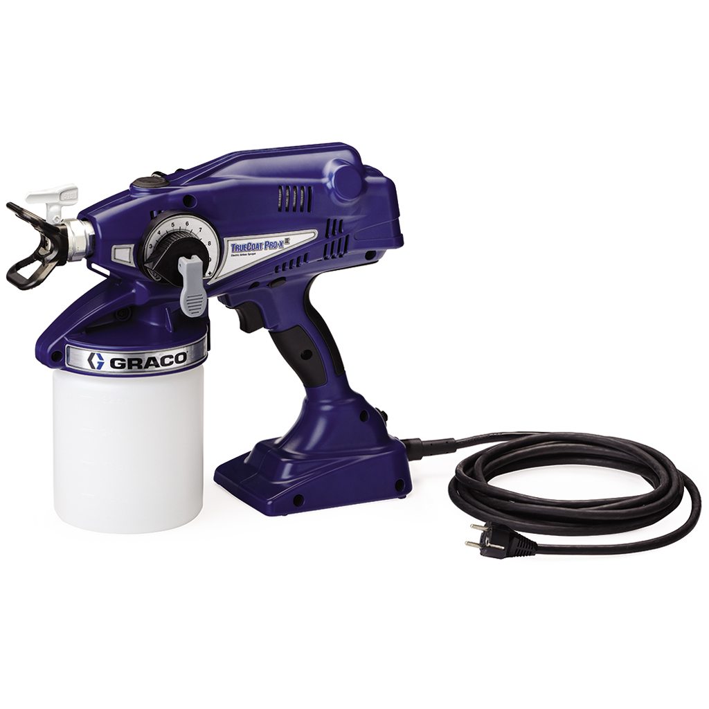 Touch-Up Applications Graco TrueCoat Pro-X GEN II Airless Corded Sprayer