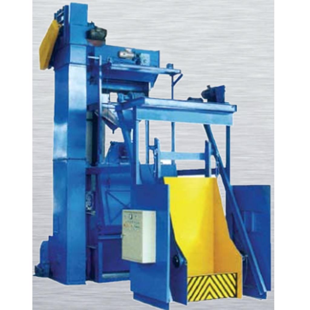 Stationary Wheelblast Equipment Tumble Belt Blasting Machine