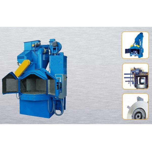 Stationary Wheelblast Equipment Turning Plate Shot Machine