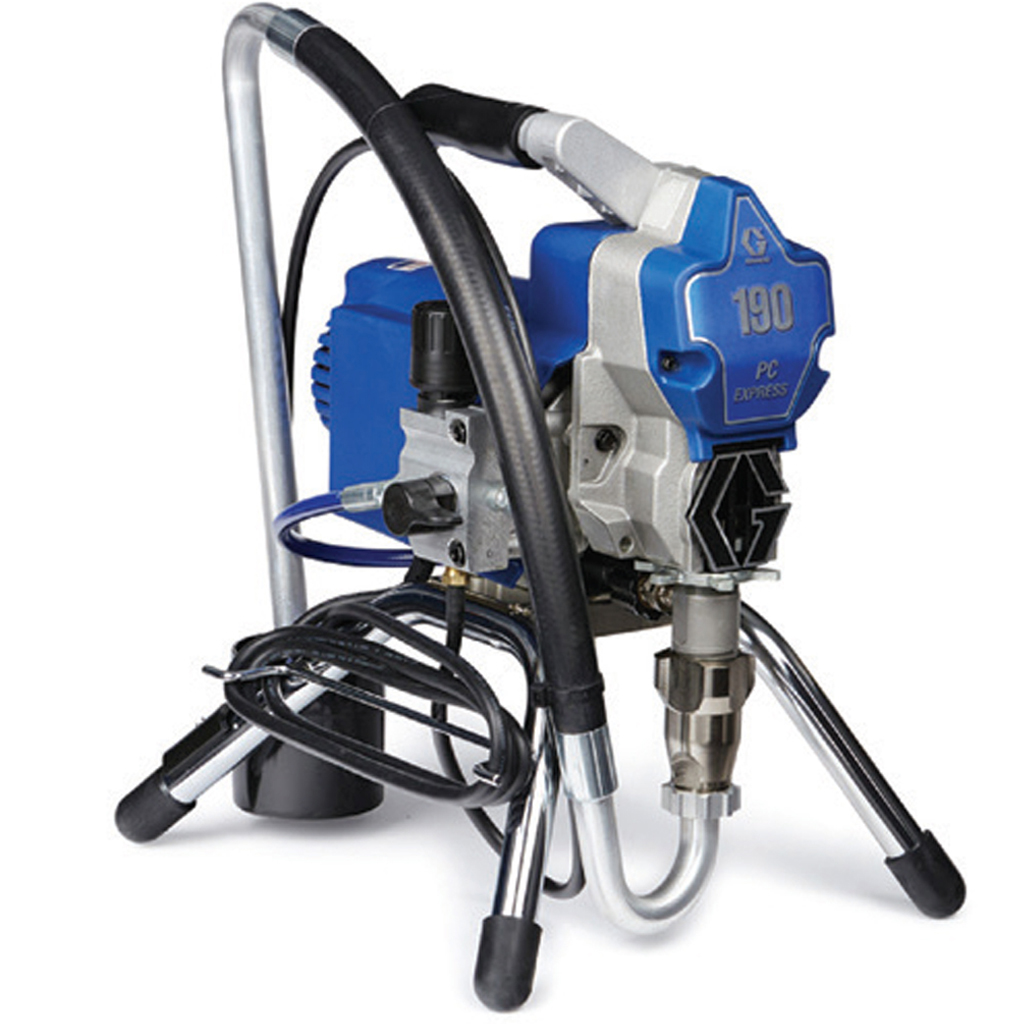 Small to Medium Electric Airless Sprayers 190 PC Express Airless Spray