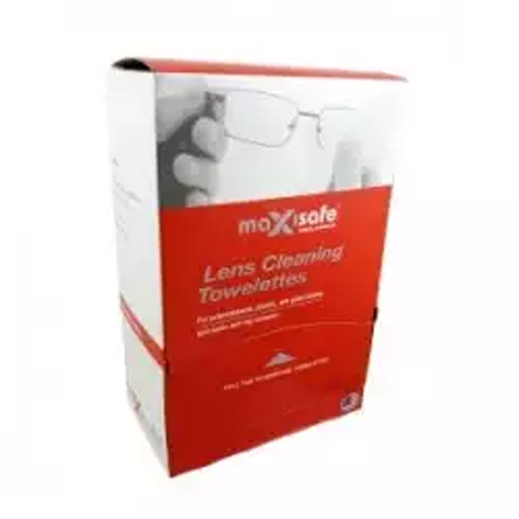 PPE Anti-fog lens cleaning wipes