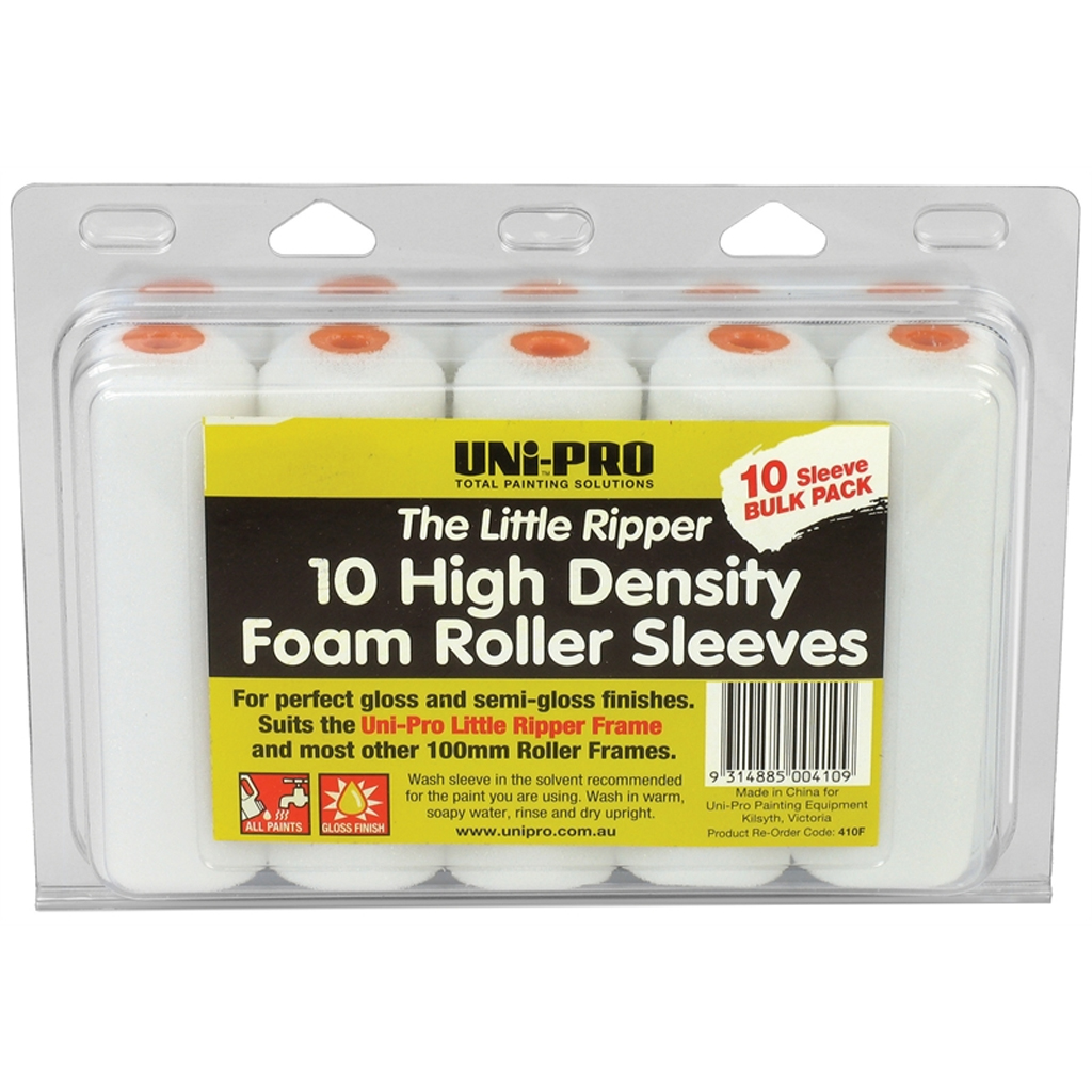 100mm High Density Foam 10PK