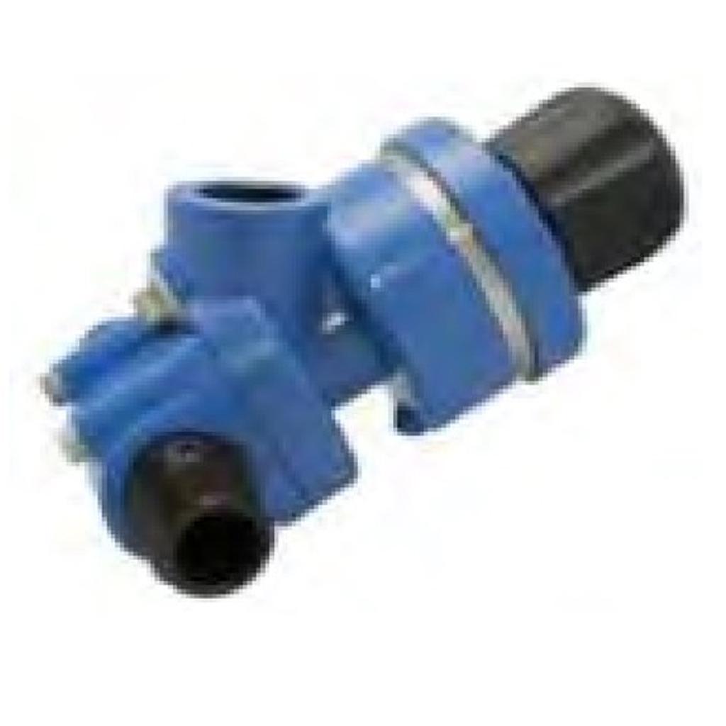 Abrasive metering valves Blue Pan Valve Urethane seat