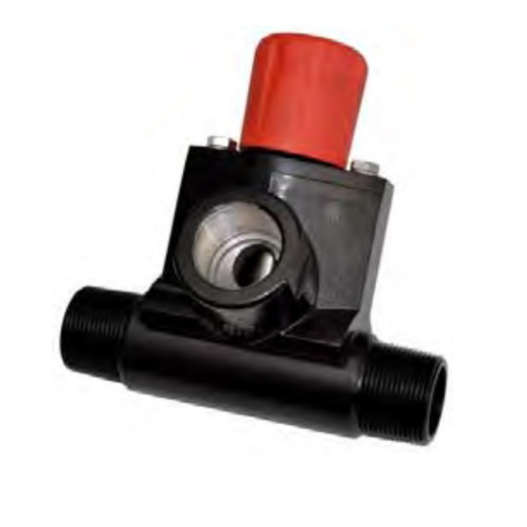 Abrasive metering valves MicroValve1‐1/4″
