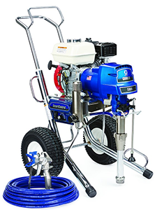 G-MAX II Applications Graco GMAX™ II Ironman 5900 Gas-Mechanical Airless Sprayer