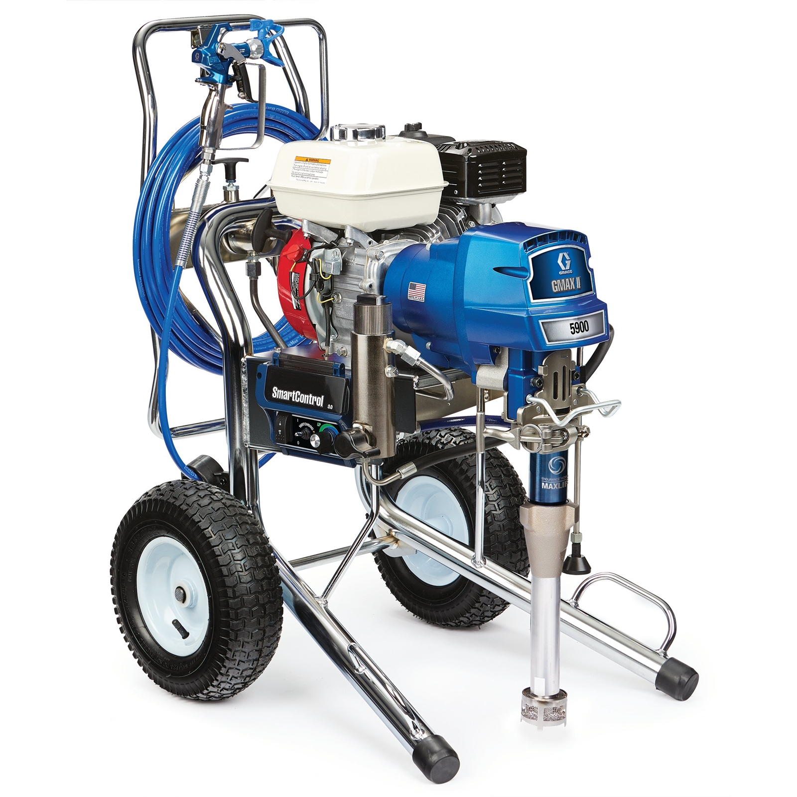 G-MAX II Applications Graco GMAX™ II ProContractor 5900 Gas-Mechanical Airless Sprayer