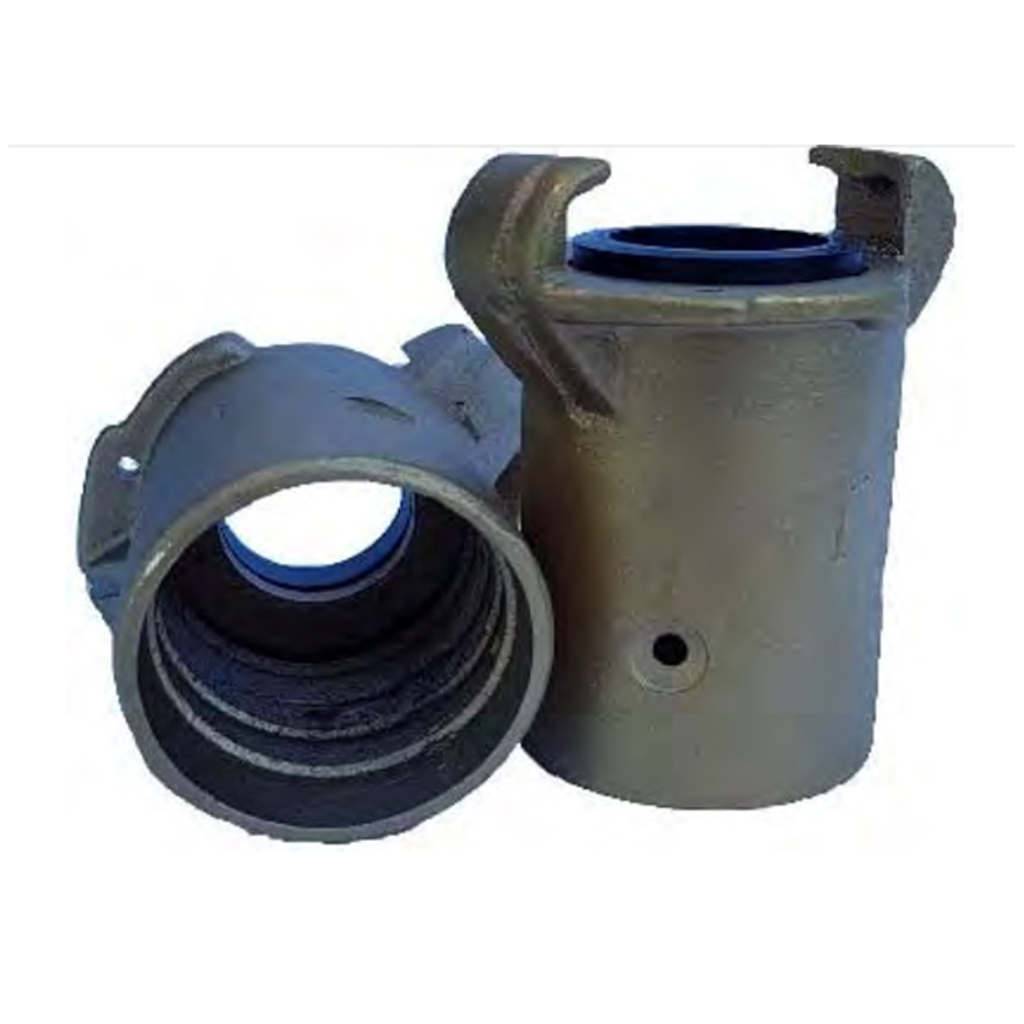 Blast Hose Coupling Brass, Fits 38mm OD Hose