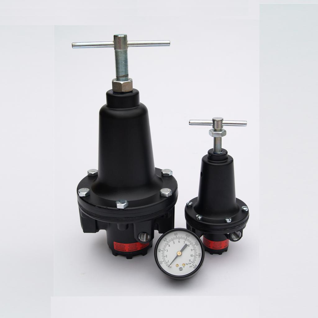 Blasting 1/4″ Mini Regulator with built in gauge