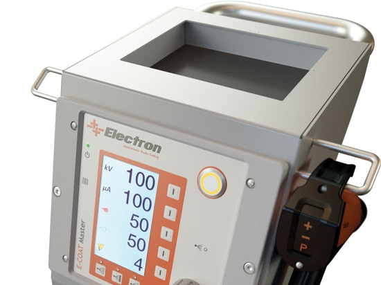 electron powder coating